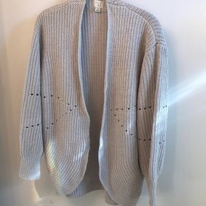 Open Cardigan with puffy sleeves!!
